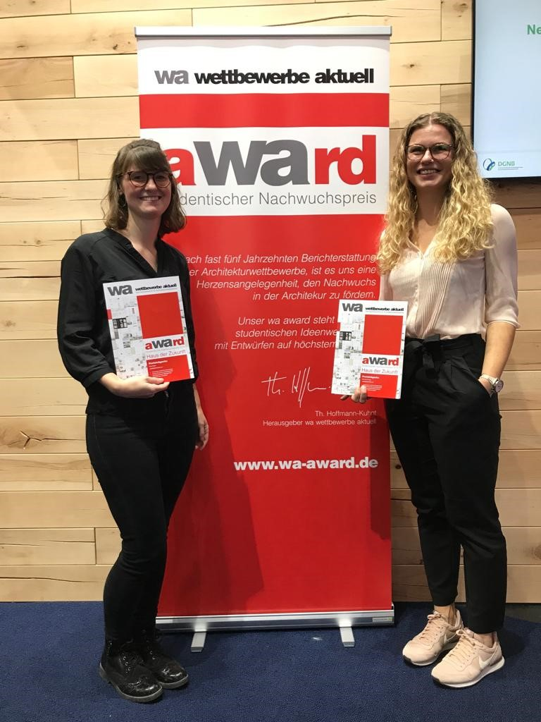 Preisträger wa award 2019 – Haus der Zukunft: Entwurf Dammerstock 2.0 / Nina Haug & Elisa Hägle