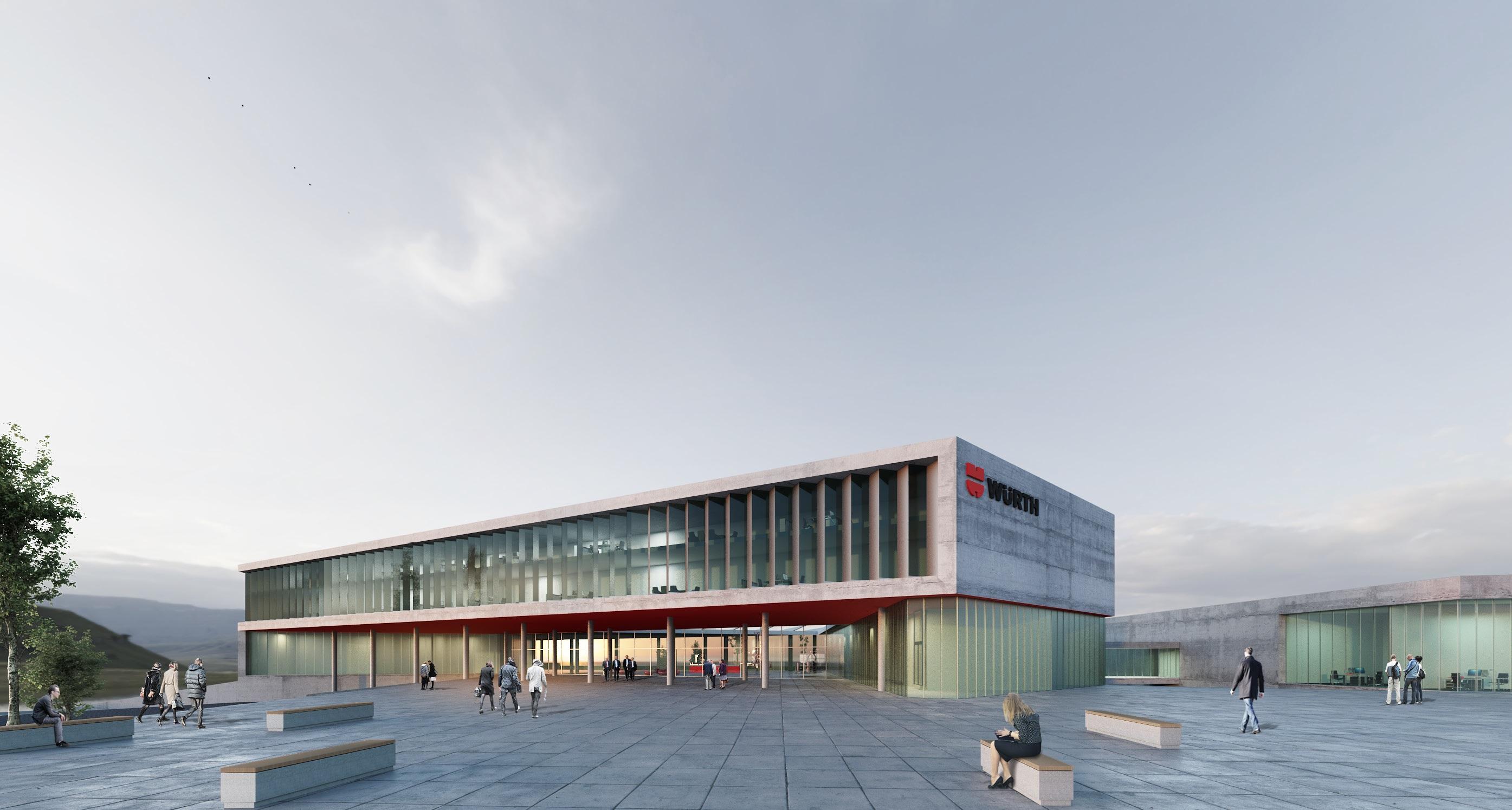 BIM-WERKBERICHTE III: Entwicklungszentrum Adolf Würth GmbH, KIT 28.01.19, 17:30-19:00 Uhr, HS 9